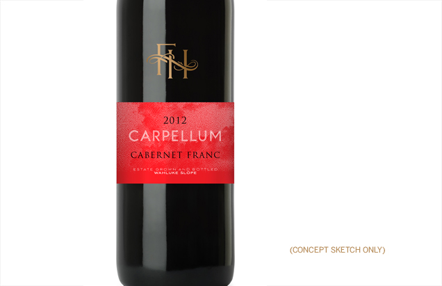 Fielding Hills Winery Label Design