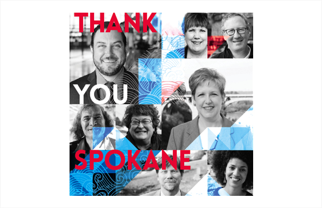 Thank You Spokane Ad