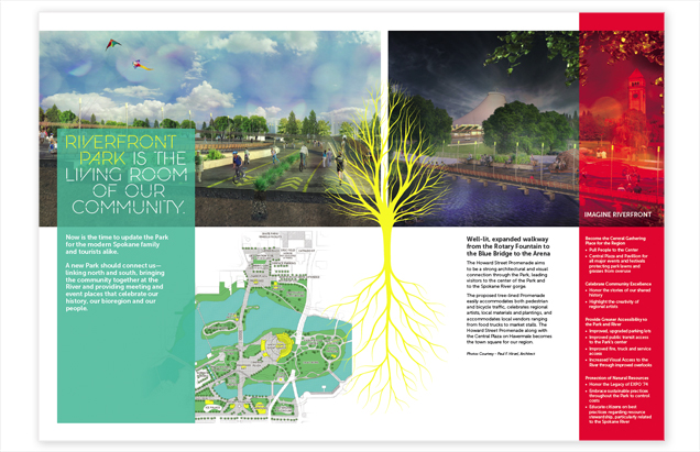 Riverfront Masterplan Campaign Collateral Outreach